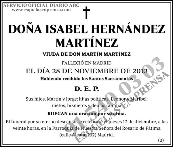 Isabel Hernández Martínez